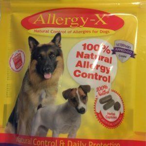 Allergy-X - allergikur der lindre og kurerer hundens hud/pels kløe
