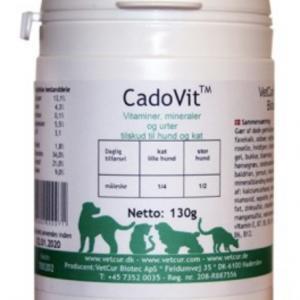CadoVit 300 g, vitaminer, mineraler og urter