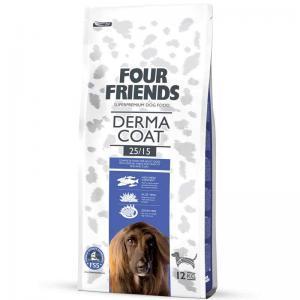 Four Friends Derma Coat hundefoder sund hud og pels - korn- og...