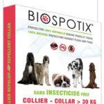Biospotix loppehalsbånd til store hunde