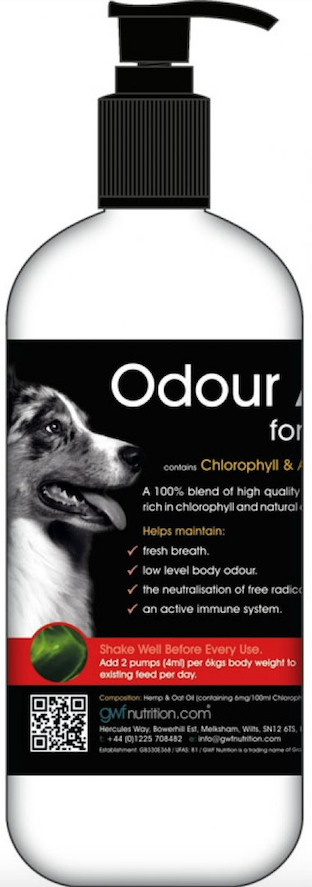 Klorofyl kan modvirke dårlig lugt hos hunde
