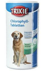 Klorofyltabletter kan modvirke dårlig lugt hos hunde