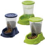 Moderna foder- og vandautomat til katte