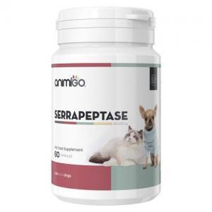 Serrapeptase forbedrer hundes og kattes overordnede sundhedstilstand
